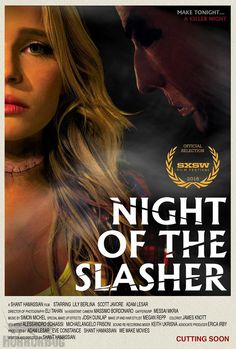 Shant Hamassian's 'Night of the Slasher' To SCreen At SXSW - DETAILS & TRAILER on HorrorBug: http://wp.me/p252Dk-4t4 #horror #thriller #short #slasher #indie #independentfilm #sxsw