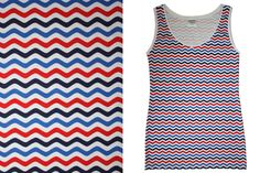 Trägertops - Unterhemd Retromuster - ein Designerstück von JAQUEEN-handmade-streetwear-berlin bei DaWanda