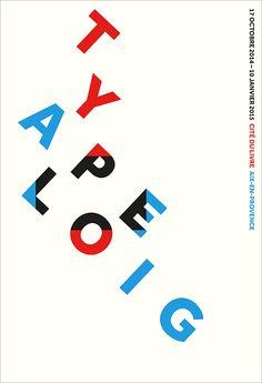 Agenda / Typo Apeloig / étapes: design & culture visuelle ƒ Typography Poster Design, Typographic Design, Typography Inspiration, Design Logos, Aix En Provence, Line Design, Book Design, Philippe Apeloig, Cv Original