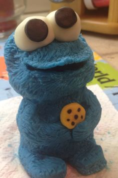 Modeling Chocolate Cookie Monster