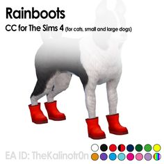 Lana CC Finds - kalino-thesims:   Rainboots!     I will release...