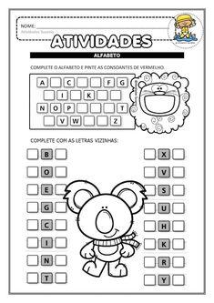 Lkg Worksheets, 2nd Grade Math Worksheets, Alphabet Worksheets, Preschool Worksheets, Numbers Preschool, Homeschool, Activities, Download, David