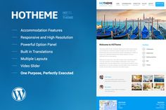 Check out Hotheme - Powerful Hotel WP Theme by HipstaCowboys on Creative Market