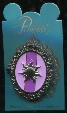 DLP DLRP Princess Symbol Locket Rapunzel Le 600 Disney Pin 94278 | eBay