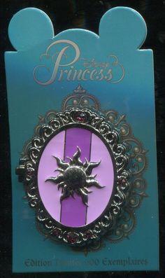 DLP DLRP Princess Symbol Locket Rapunzel Le 600 Disney Pin 94278 | eBay