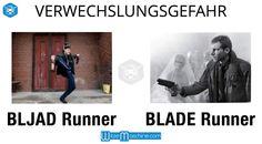 Verwechslungsgefahr - Bljad Runner - Blade Runner - Russen Witze