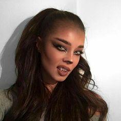 Werewolf/ She-Wolf Makeup