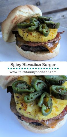 Spicy Hawaiian Burge