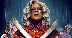 Boo 2! a Madea Halloween Kills the Box Office with $21.6M -- Tyler Perry's comedy sequel Boo 2! A Madea Halloween has no trouble taking the top spot at the box office in the year's most crowded weekend. -- http://movieweb.com/boo-2-madea-halloween-box-office-weekend-win/