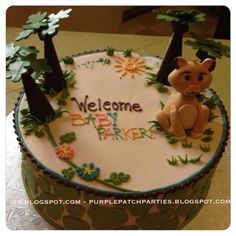 Disney's Lion King Baby Shower Cake made by Fredrick's Pastries, Amherst NH. www.pastry.net #fredrickpastry @fredrickpastry