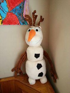 DIY Frozen Olaf Plush w/pattern.