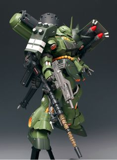 MG Geara Doga Heavy Armament Type by Visualpollution. FULL Photoreview [WIP too] Wallpaper Size Images, Info http://www.gunjap.net/site/?p=190778