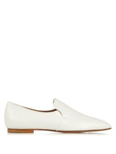 Alys calf-leather loafers | The Row | MATCHESFASHION.COM US