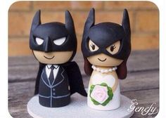 Batman Wedding Toppers!!!!
