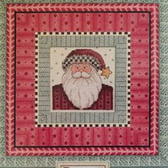 Dimensions Counted Cross Stitch Kit Daydreams Debbie Mumm Christmas Starry Santa #Dimensions #Frame