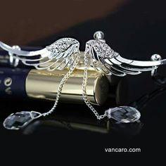 Vancaro...#EarringCuff #AngelWing