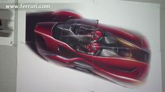 CCS Ferrari Design Sketch