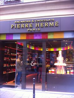 Pierre herme macarons, Paris France