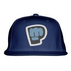 PewDiePie Embroidered Snapback Hat