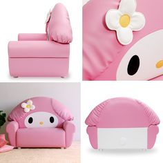 Sanrio Sofa Featuring Hello Kitty and My Melody On Sale Now | RocketNews24