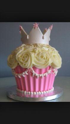 Large cupcake