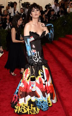 Katy Perry from 2015 Met Gala Arrivals | E! Online