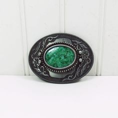 Pewter Belt Buckle Large Western Style Faux Turquoise Floral | Etsy Jewelry Accessories, Fashion Accessories, Brass Belt Buckles, Vintage Outfits, Vintage Clothing, Antique Metal, Vintage Ephemera, Outdoor Christmas, Western Style