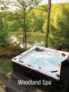 Be at one with the birds, bees and the trees in your woodland spa - the natural way to relax.