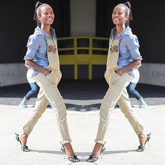 #stealthelook #look #looks #streetstyle #streetchic #moda #fashion #style #estilo #inspiration #inspired #azul #camisa #Macacao #sarja