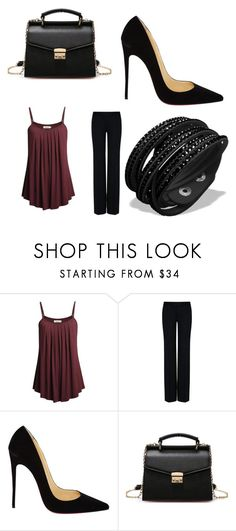 """Bez naslova #12"" by merima009 ❤ liked on Polyvore featuring STELLA McCARTNEY and Christian Louboutin"
