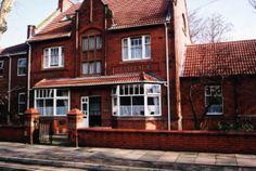 Urmston Cottage Hospital, where I was born.