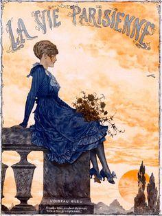 La Vie Parisienne L'Oiseau Bleu May 15, 1914 Chéri Hérouard