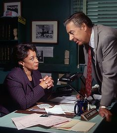 Lt. Anita Van Buren: Do you believe him? Det. Lennie Briscoe: I believe on a good day he couldn't hit his ass with both hands.