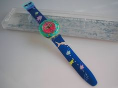 "SWATCH SCUBA ""HAPPY FISH"" - NEUWARE - KULT-SCUBA!! 