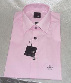 J Ferrar dress shirt slim fit providence pink men's size S 14-14.5 L 16-16.5 NEW 16.99 http://www.ebay.com/itm/J-Ferrar-dress-shirt-slim-fit-providence-pink-mens-size-S-14-14-5-L-16-16-5-NEW-/261654179191?ssPageName=STRK:MESE:IT