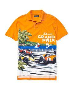 ab9dc14627e Grand Prix 2015 remixed Polo Shirt -. Alex Govenar · Ralph lauren polo