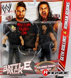 The Shield (Roman Reigns & Seth Rollins) - WWE Battle Packs 24 | Ringside Collectibles