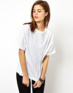 ASOS+T-Shirt+with+Fold+Detail