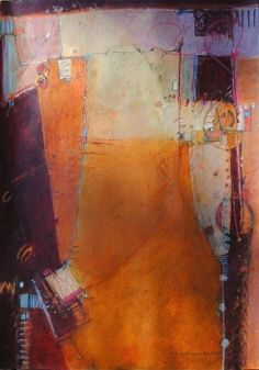 """""""An Afternoon Story"""" mixed media by Elaine Daily-Birnbaum"""