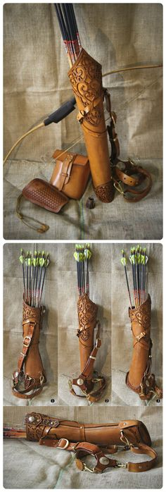 That is the prettiest quiver and accessories ever! That would be exactly what I .