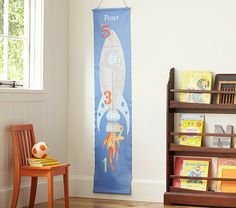 Rocket Canvas Growth Chart adds to the exploration theme and brings in orange accent.