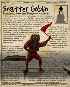 Labyrinth Guide-Snatter Goblin  by =Chaotica-I  Fan Art / Digital Art / Painting & Airbrushing / Movies & TV	©2011-2012 =Chaotica-I