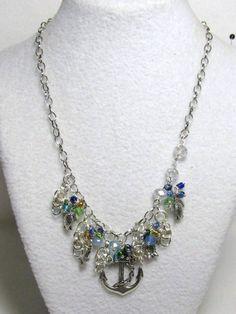 Crystal Design, Sea Turtles, Under The Sea, Seed Beads, Anchor, Swarovski Crystals, Mermaid, Facebook, Chain
