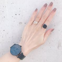 Nail Jewelry, Chanel Jewelry, Jewelery, Nail Accessories, Fashion Accessories, Fashion Jewelry, Nail Pops, Silver Stacking Rings, Nail Trends