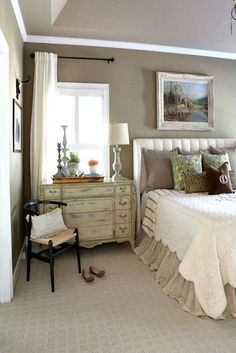 French Country Master Bedroom Refresh | Country master bedroom ...