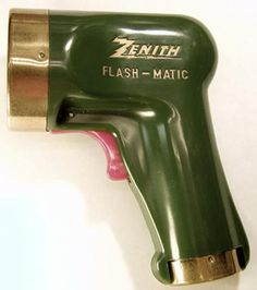 """""""Flash-Matic"""" Remote control, Eugene Polley,1955"""