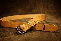 curea din piele naturala de vita Leather Accessories