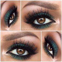 #Maquillaje Ojos intensos #eyemakeup
