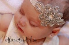 DIADEMA de diamantes de imitación Bling bebé por AlexandriaVictoria