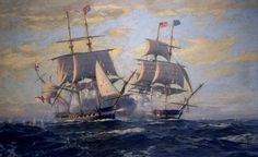USS Constitution HMS Guerrierre